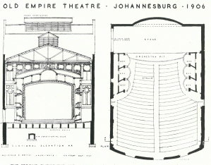 Second Empire Theatre seating plan 1906