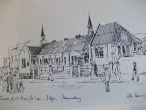 St. Mary-the-less drawn by Abe Bailey