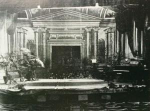 Standard Theatre's stage