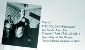 Advert for The Colony