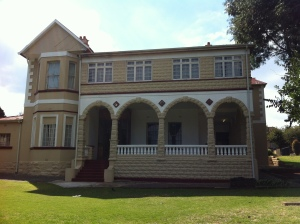 Example of a double story house. Similar examples can still be seen in Parktown West