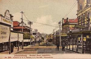 MArshall str Jeppestown c1910