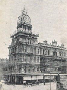 The building in the early 1900s