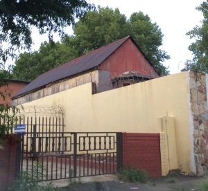 Tin house in Lorentzville