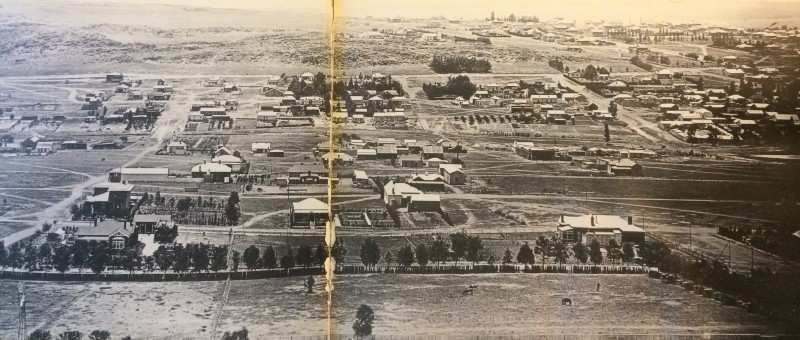 Bertrams & Lorentzville generla view early 1900s