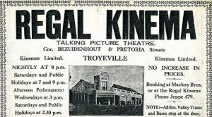 Regal Kinema Troyeville
