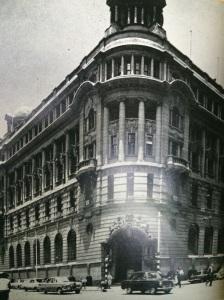 Old Standard Bank building in Harrison Street