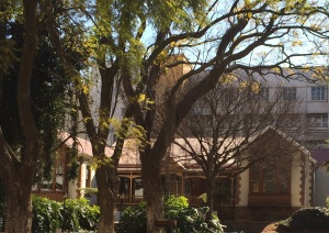 Hotel school house on smith Street and the only remaining 'Wanderers view' house