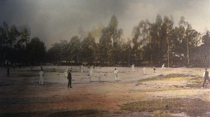Union Cricket Ground match 1886
