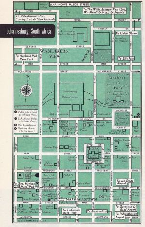 Tourist Map from the 1940s showing Argyll