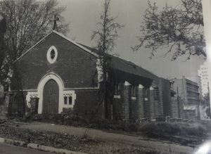 All Saints Parish Church in the 1950s