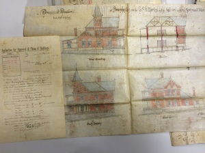 Dutch Reform Church Rectory plans 1898