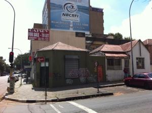 Last houses on Henri Street 2012