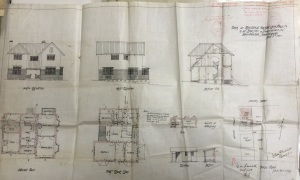 Braamfontein Rev Phillips house cnr Loveday and Steimens str 1909 plans