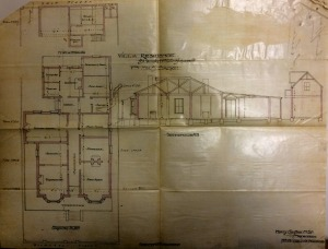 Plans for the Sacke Residence 1892