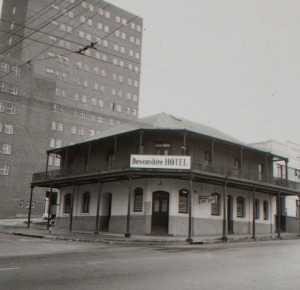 Devonshire Hotel in the 1960s