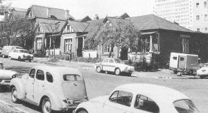 Simmonds Street houses from 1964