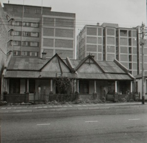 Semis in Braamfontein from the late 1960s soon to be demolished