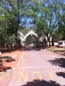 Entrance in 2013