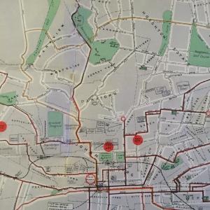 City centre, Braamfontein and Parktown