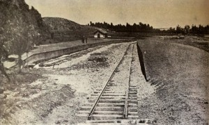 Railway siding on the west side of the show grounds from 1911
