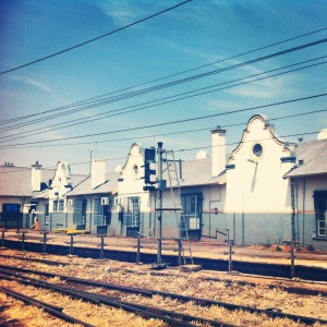 Braamfontein Station buildings from 2012