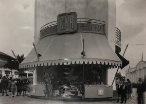 CNA stand 1948 Rand show