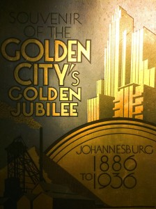 Golden City Jubilee Souvenir book cover