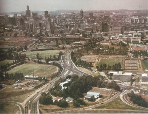View of Helpmekaar and Braamfontein in general from the 1970s