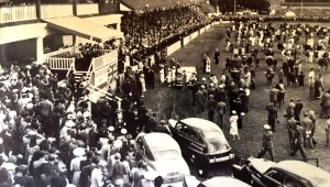 H.M. King George VI opening the 1947 Rand Show