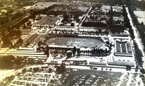 Rand show in 1951 looking north toward Empire Road.