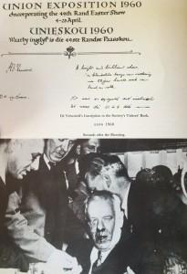1960 assasination attempt on H.F. Verwoerd