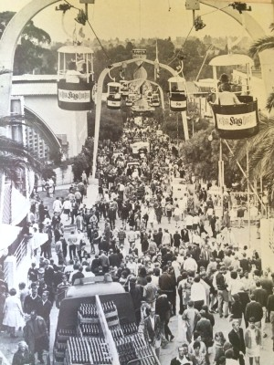 Cable cars in full swing 1969