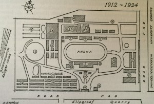 Layout of the show 1912-1920