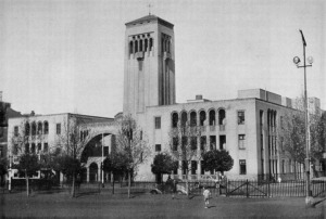 New Irene church with additional flats circa 1936