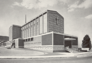 New cathedral in 1960