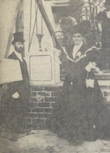 Foundation stone being laid for the Fordsburg synagogue