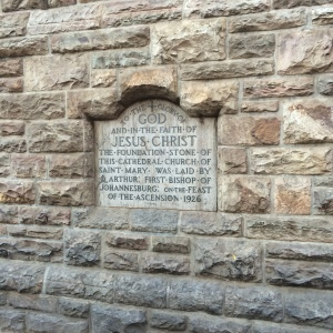 St. Mary's Cathedral foundation stone