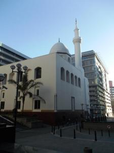 The new mosque today