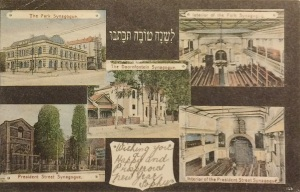 Various synagogues