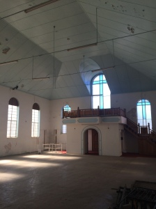 Interior of the old Dutch/Maronite church 2015