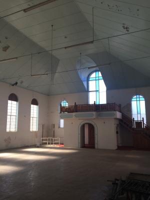 Interior of the old Dutch/Maronite church 2015
