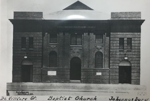 Baptist Church De Villers Street 1914
