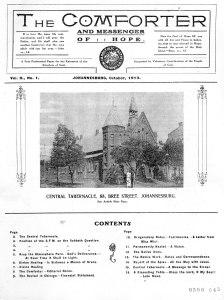 Picture of the church from a pamphlet from 1913
