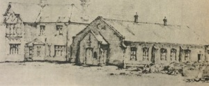Sketch of the old Presbyterian Church