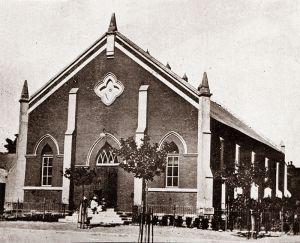 Rebuilt NG of H Church in Central Road