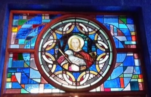 Stained glass from the Spanish church
