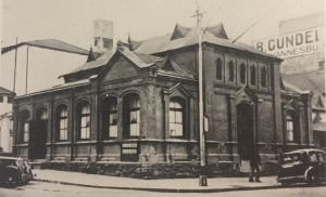 Original Weslyan church before the extension.