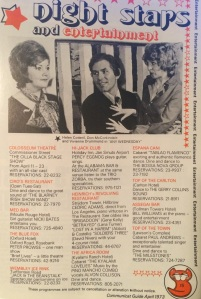 Hot spots in 1973