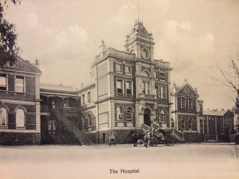 The first general hospital in Johannesburg